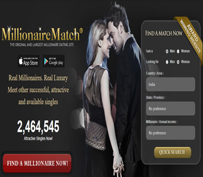 millionaire dating sites profiles
