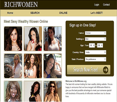 dating site for wealthy people