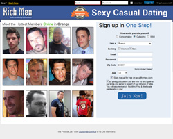 Casual dating website